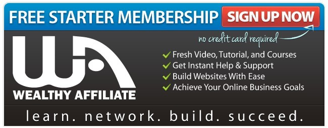 Sign up for Wealthy Affiliate Free Starter Membership